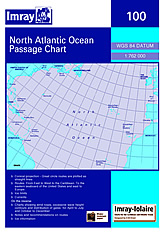 North Atlantic Ocean Passage Chart